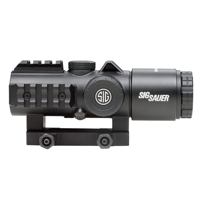 Sig Sauer BRAVO3 Battle Sight 3X30mm 556-762 HORSESHOE DOT ILLUM RETICLE 0.5 MOA M1913 GRAPHITE SOB33101