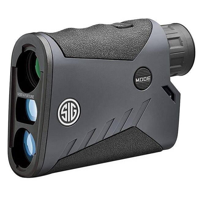 SIG Sauer Kilo1000BDX Laser Range Finding Monocular 5x20mm, HT LCD, BT, ABU, Graphite, CLASS 3R SOK10602