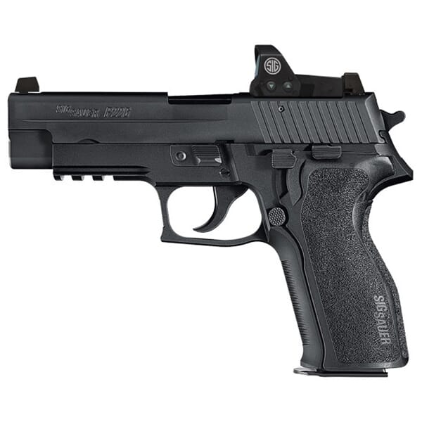 "Sig Sauer P226 9mm 4.4"" RX DA/SA 15rd Black Pistol E26R-9-B-RX"