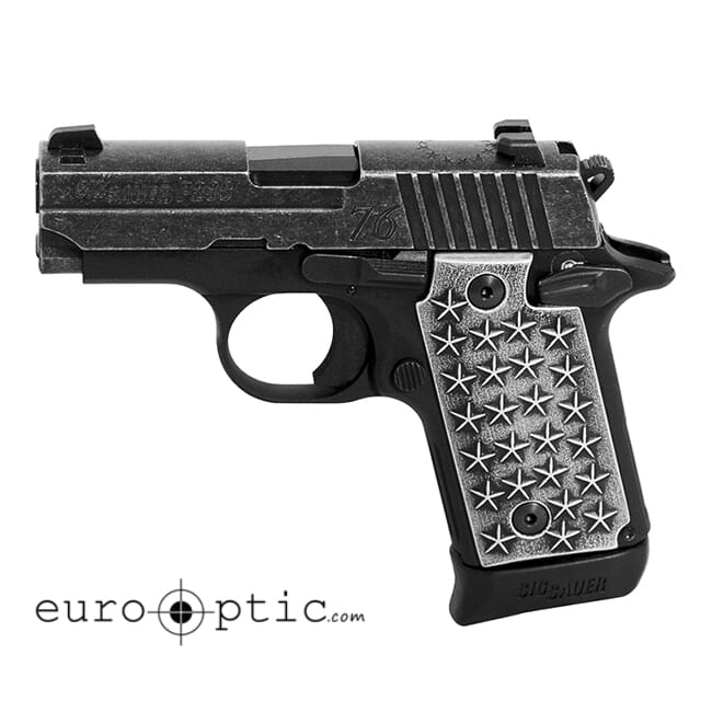 "Sig Sauer P238 We The People 380 Auto 2.7"" Black Micro-Compact Pistol 238-380-WTP"