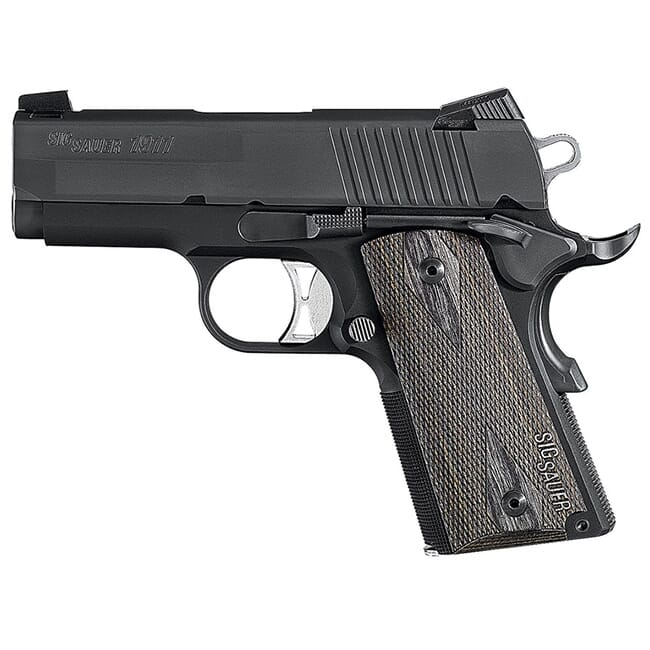 Ultra, Nitron Finish, Low Profile Night Sights, 3 Hole Trigger, Rosewood Grips 1911U-45-BSS