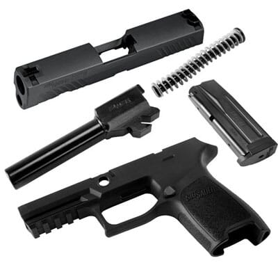 Sig Sauer P320C 9mm Caliber X-Change Kit CALX-320C-9-BSS-10