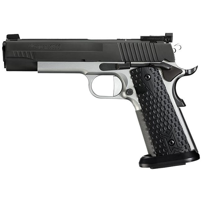 Sig Sauer 1911 Full Size 9mm (2) 9 RD Steel Mag Ice Magwell