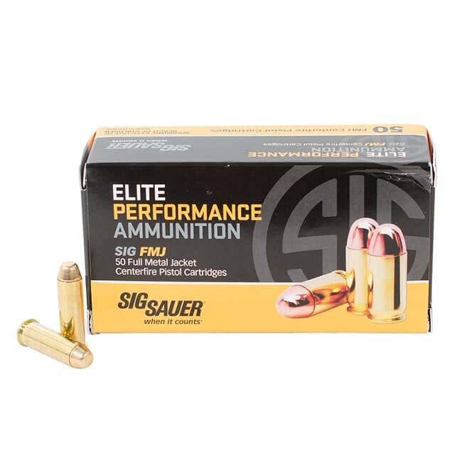 Sig Sauer Ammo 38 Special 125gr Elite Ball FMJ 50/Box E38SB1-50