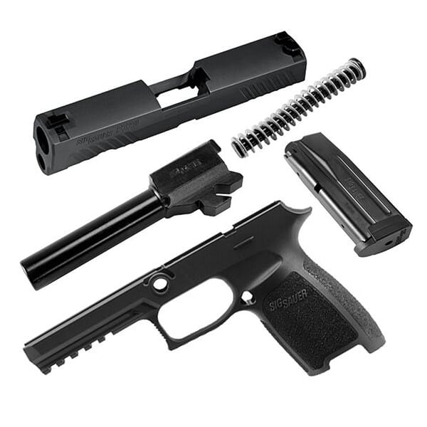 Sig Sauer P320 Full 9mm Caliber X-Change Kit CALX-320F-9-BSS