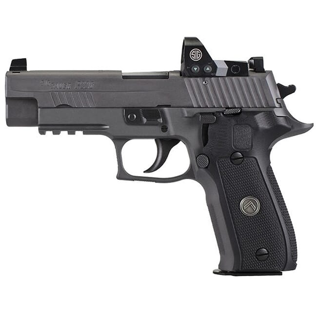 "Sig Sauer P226 9mm 4.4"" Legion Gray DA/SA Black G10 15rd  E26R-9-LEGION-RX"