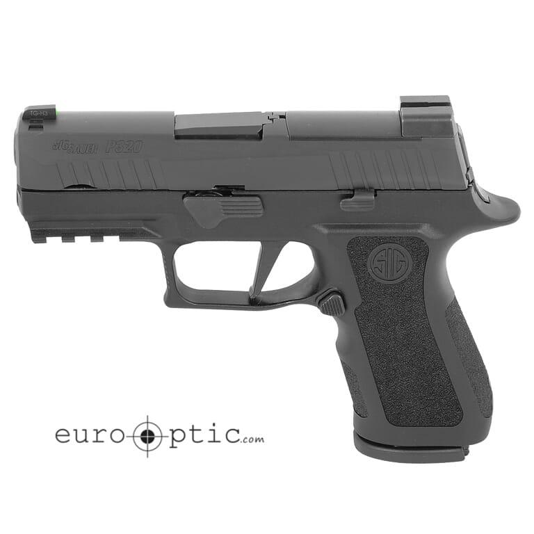 Sig Sauer P320, 9mm, 3.6in, X-Series, Blk, Striker, X-Ray 3 W/Ns Plate, Mod Poly X Grip, (2) 15rd Steel Mag, Rail Pistol 320XC-9-BXR3