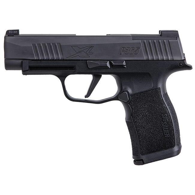 Sig Sauer P365 XL, XSeries, 9mm, 3.7in, Nitron, Blk, Striker, X-Ray 3, Polymer Grip, (2) 12rd Steel Mag Pistol 365XL-9-BXR3