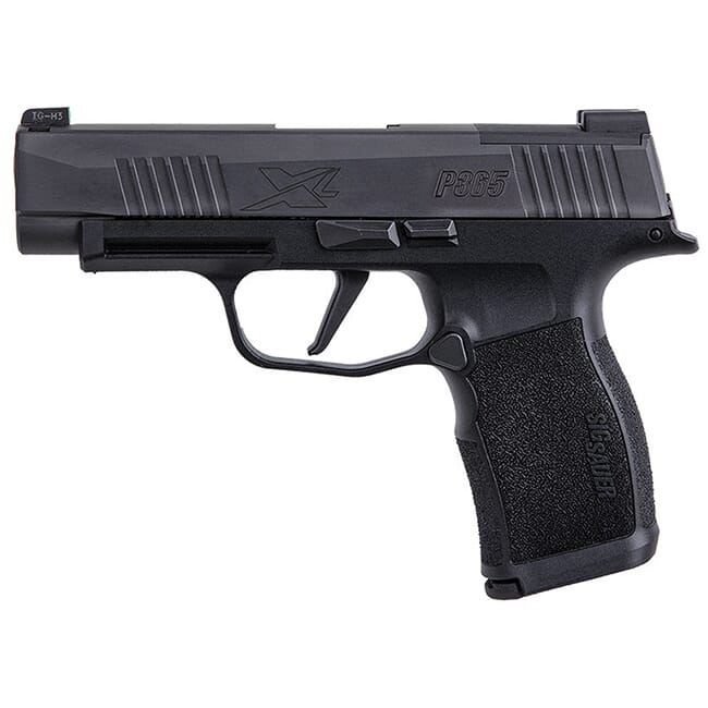 Sig Sauer P365 XL, XSeries, 9mm, 3.7in, Nitron, Blk, Striker, X-Ray 3, Polymer Grip, (2) 12rd Steel Mag Pistol 365XL-9-BXR3