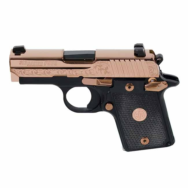 Sig Sauer P938 Rose Gold Ambidextrous Safety 938-9-ERG-AMBI