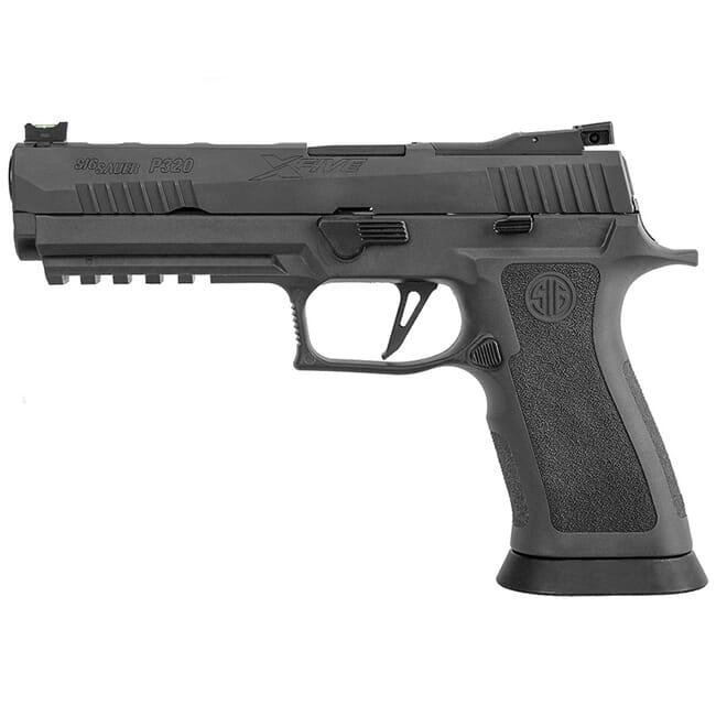 "Sig Sauer P320 XFIVE, 9mm, 5"", Legion, Striker, Optics Ready Pistol w/ (3) 17rd Steel Mag 320X5-9-LEGION-R2"