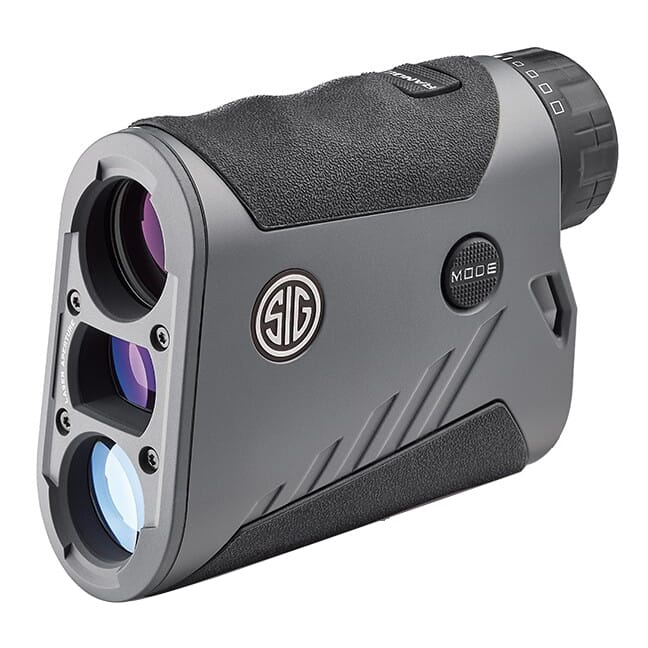 SIG Sauer Kilo1600BDX Laser Range Finding Monocular 6x22mm, Transmissive OLED, BT, ABU, Graphite, Class 3R SOK16607