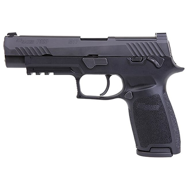Sig Sauer M17 BRAVO P320 Pistol 9mm Manual Safety SIGLITE w/DeltaPoint Pro Plate (2) 17rd Mag 320F-9-M17-MS-BRAVO