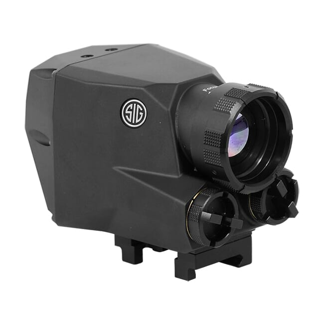 Sig Sauer Echo1 Thermal Reflex Sight, 1-2X, M1913, Graphite, ITAR Controlled SOE11001. Operational, Used. NO WARRENTY UA1729