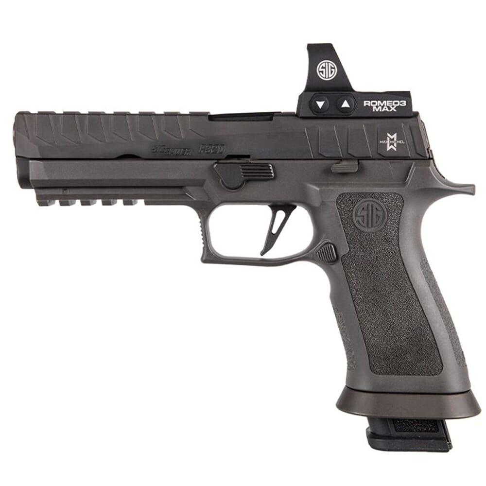 "Sig Sauer Custom Works P320 MAX 9mm 5"" Pistol w/ROMEO3 MAX, Rail and (4) 21rd Steel Mags 320X5-9-MAXM"