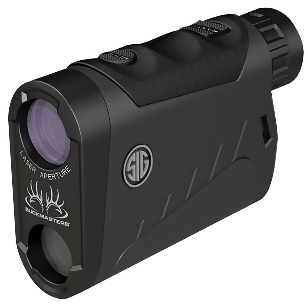Sig Sauer Buckmasters Laser Rangefinder 1500 6x22mm, Red Illuminated Display SOK15601