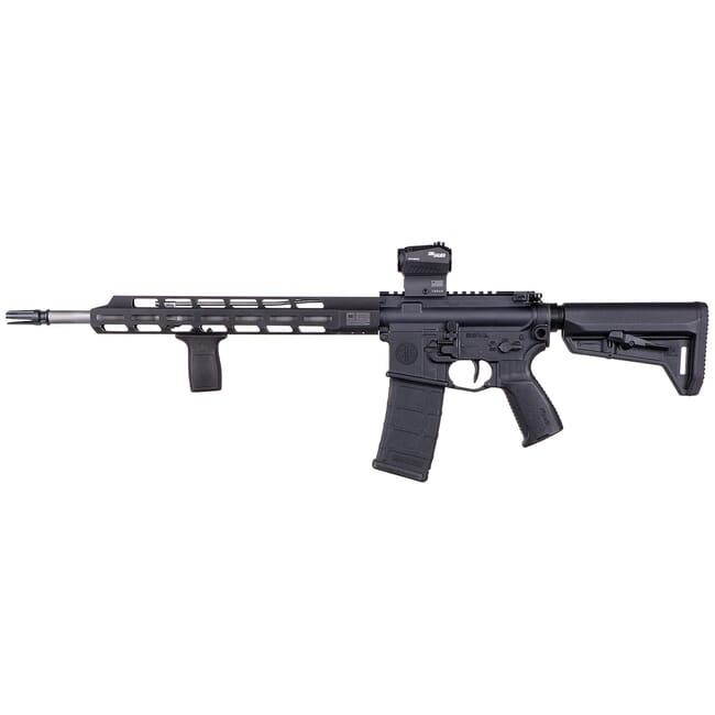 "Sig Sauer M400 TREAD 5.56 NATO 16"" 30rd. Black/SSl Rifle w/Romeo5 and Magpul SL-K Telesc. Stock RM400-16B-TRD-COIL"
