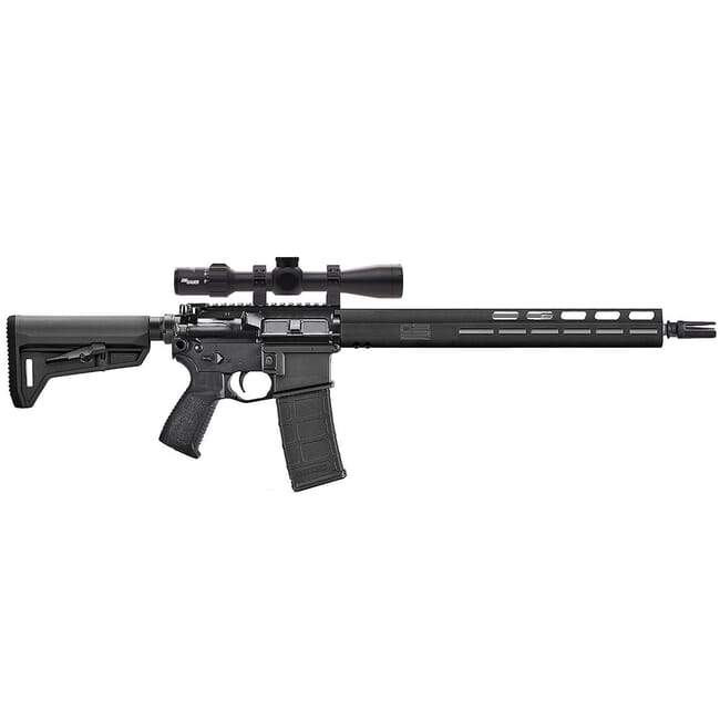 "Sig Sauer M400 TREAD 5.56 NATO 16"" 30rd Black/Stainless Steel Rifle w/M-LOK and Sierra3 BDX Scope RM400-16B-TRD-BDX"