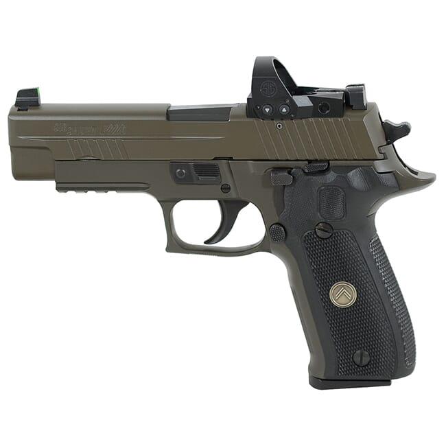"Sig Sauer P226 9mm 4.4"" Legion Gray DA/SA Pistol w/ (3) 10Rd Mags & ROMEO1PRO 226R-9-LEGION-RXP"