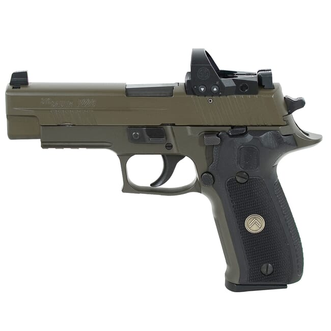 """Sig Sauer P226 9mm 4.4"""" Legion Gray DA/SA Pistol w/ (3) 15Rd Mags & ROMEO1PRO E26R-9-LEGION-RXP"""