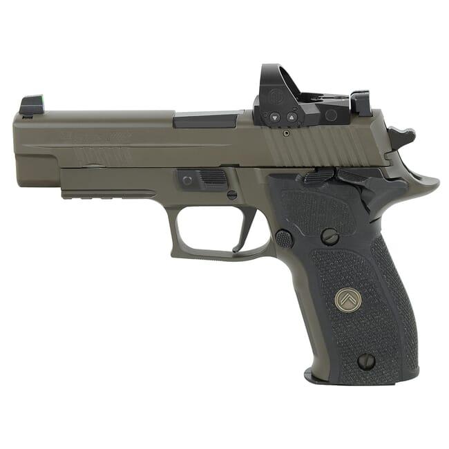 """Sig Sauer P226 9mm 4.4"""" Legion Gray SAO Pistol w/ (3) 15Rd Mags & ROMEO1PRO E26R-9-LEGION-SAO-RXP"""
