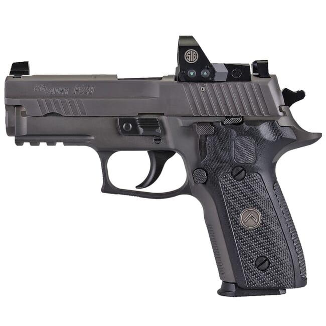 "Sig Sauer P229 9mm 3.9"" Legion Gray DA/SA Pistol w/ (3) 10Rd Mags & ROMEO1PRO 229R-9-LEGION-RXP"