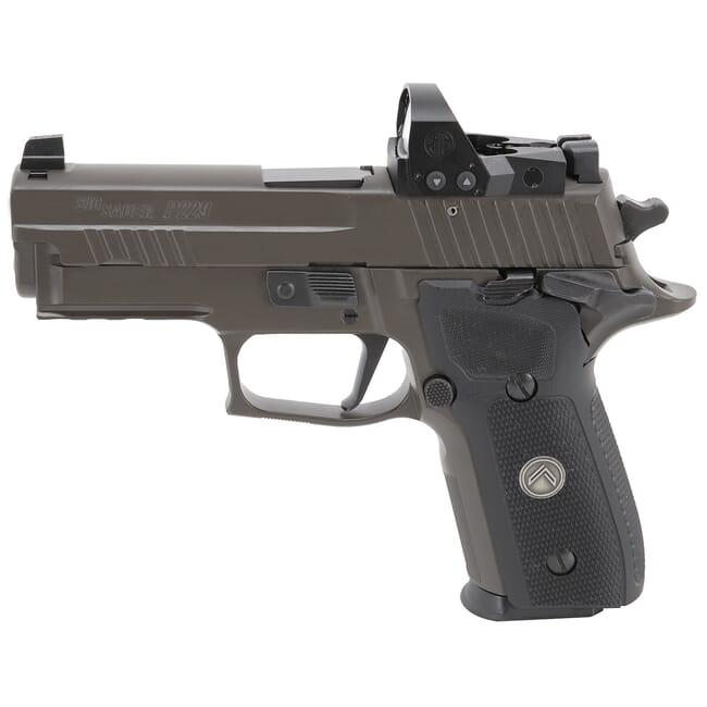 "Sig Sauer P229 9mm 3.9"" Legion Gray SAO Pistol w/ (3) 10Rd Mags & ROMEO1PRO 229R-9-LEGION-SAO-RXP"