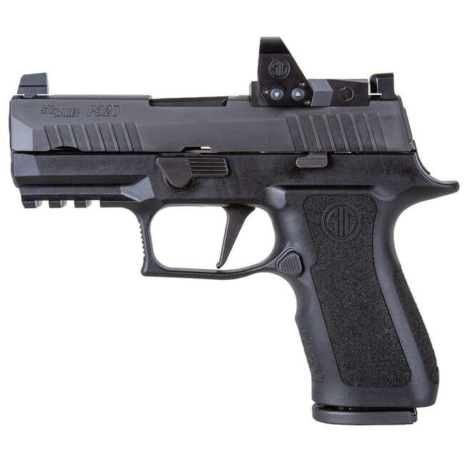 "Sig Sauer P320 9mm 3.6"" X-Series Black Striker Pistol w/ (2) 10Rd Mags & ROMEO1PRO 320XC-9-BXR3-RXP-10"