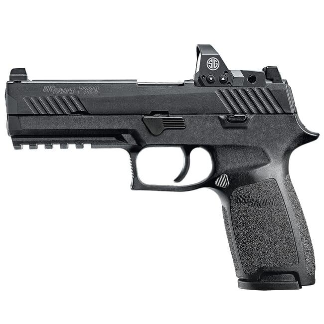 "Sig Sauer P320 9mm 4.7"" X-Series Black Striker Pistol w/ (2) 10Rd Mags & ROMEO1PRO 320XF-9-BXR3-RXP-10"