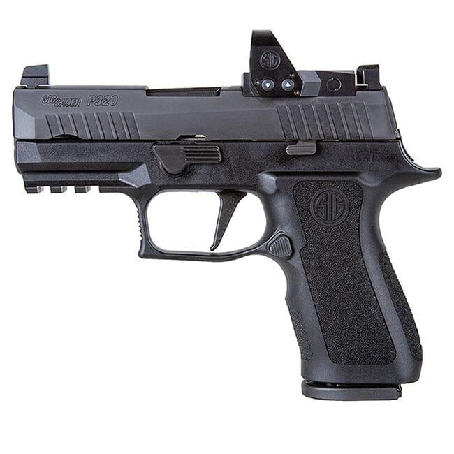 Sig Sauer P320, 9mm, 3.6in, X-Series, Blk, Striker, X-Ray 3 Supp Sights, (2) 15rd Mag, ROMEO1pro, Rail 320XC-9-BXR3-RXP