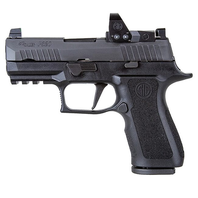 Sig Sauer P320, 9mm, 3.6in, X-Series, Blk, Striker, X-Ray 3 Supp Sights, (2) 15rd Mag, ROMEO1pro, Rail 320XC-9-BXR3-RXP