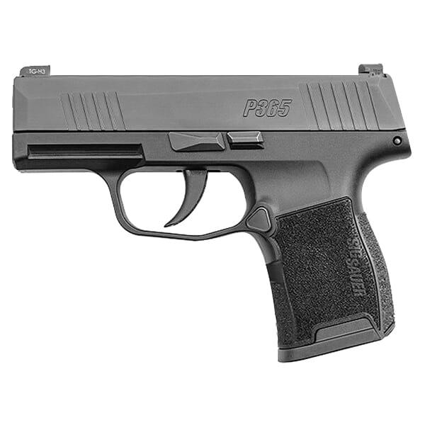 "Sig Sauer P365 Nitron 9mm Micro-Compact Semi-Auto 3.1"" (2) 10 Round Magazine Handgun 365-9-BXR3"