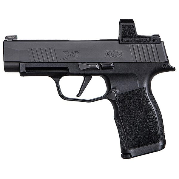 "Sig Sauer P365 9mm 3.7"" X-Series Black Striker Pistol w/ (2) 10Rd Mags & ROMEO ZERO 365XL-9-BXR3-RXZ-10"