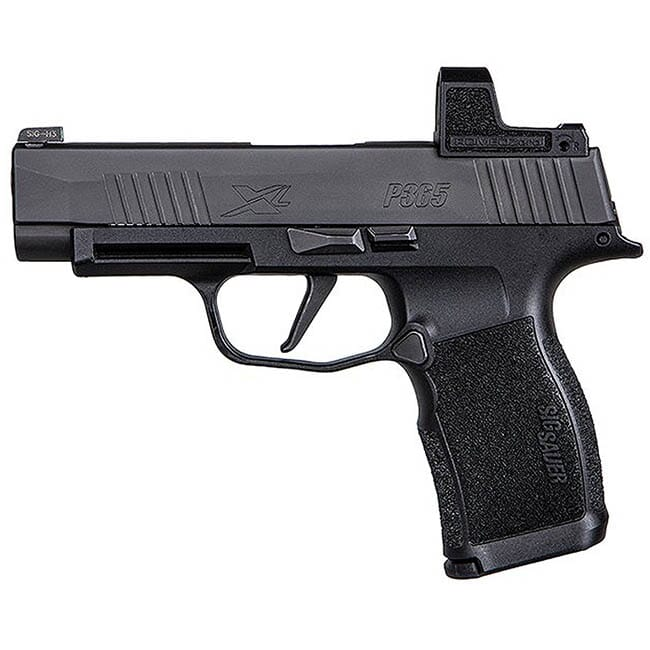 "Sig Sauer P365 XL 9mm, 3.7"" (2) 12rd Steel Mag Pistol w/ Romeo Zero Optic Installed 365XL-9-BXR3-RXZ"