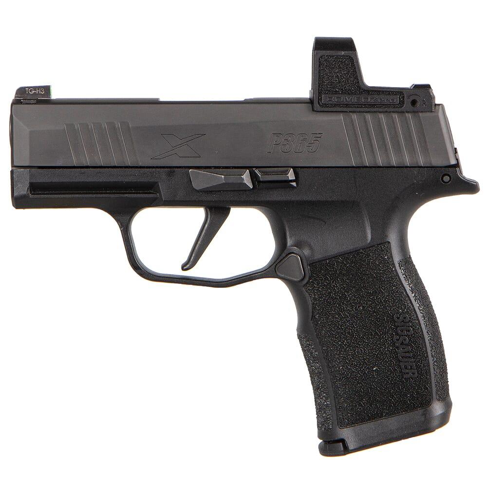 "Sig Sauer P365X Romeo Zero 9mm 3.1"" Pistol w/XRAY3 Front Sight, ROMEO Zero, and (2) 12rd Steel Mags 365X-9-BXR3-RXZ"