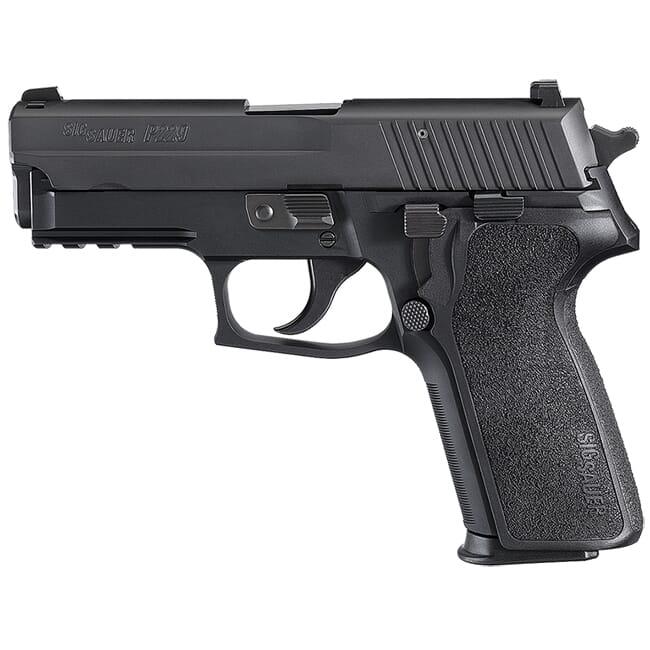 """Sig Sauer P229 9mm 3.9"""" Nitron Black DA/SA Pistol w/ (2) 10Rd Mags 229R-9-BSS"""