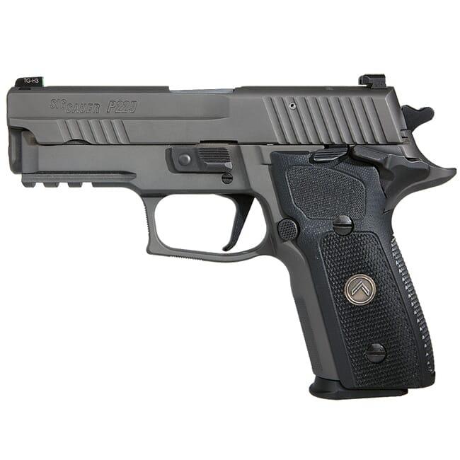 "Sig Sauer P229 9mm 3.9"" Legion Gray SAO Pistol w/ (3) 10Rd Mags 229R-9-LEGION-SAO"