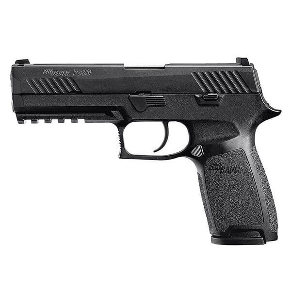"Sig Sauer P320 9mm 4.7"" Nitron Black Striker Pistol w/ (2) 10Rd Mags 320F-9-B-10"