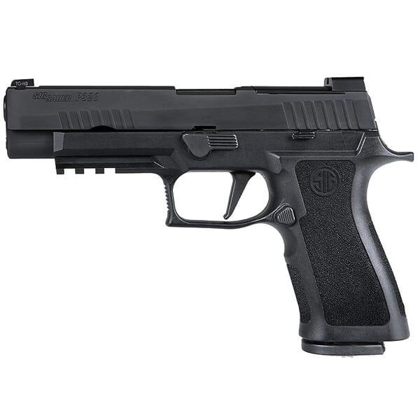 "Sig Sauer P320 9mm 4.7"" X-Series Black Striker Pistol w/ (2) 10Rd Mags 320XF-9-BXR3-R2-10"