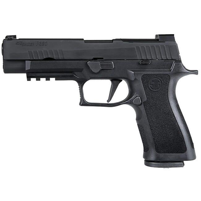 Sig Sauer P320, 9mm, 4.7in, Nitron, Blk, Striker, X-Ray 3 W/ R2 Ns Plate, Mod Poly X Grip, (2) 17rd Steel Mag, Rail Pistol 320XF-9-BXR3-R2 320XF-9-BXR3-R2-Sig