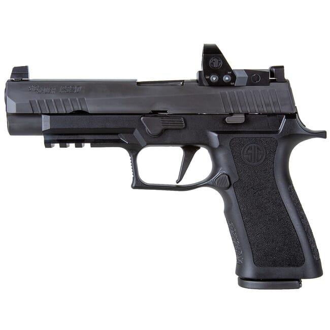 Sig Sauer P320, 9mm, 4.7in, X-Series, Blk, Striker, X-Ray 3 Supp Sights, (2) 17rd Mag, ROMEO1pro, Rail Pistol 320XF-9-BXR3-RXP