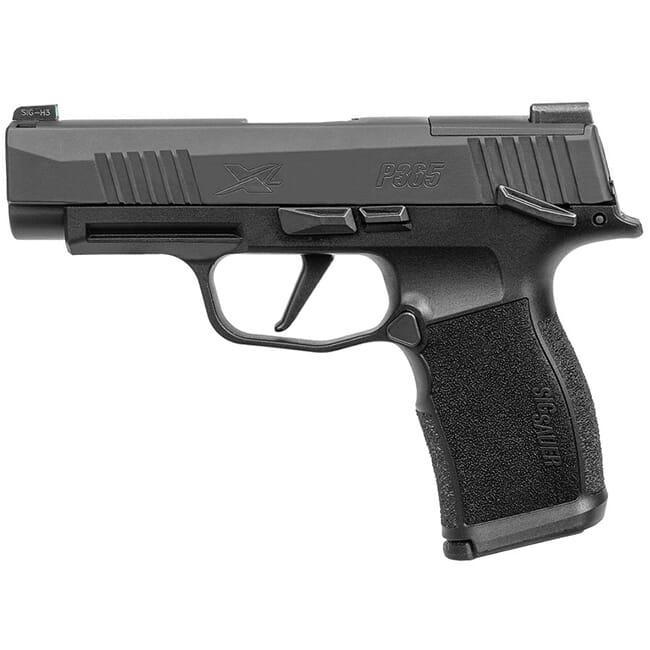 "Sig Sauer P365 9mm 3.7"" X-Series Black Striker OR Pistol w/ (2) 12Rd Mags 365XL-9-BXR3-MS"