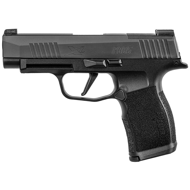 "Sig Sauer P365 9mm 3.7"" X-Series Black Striker OR Pistol w/ (2) 10Rd Mags 365XL-9-BXR3-10"