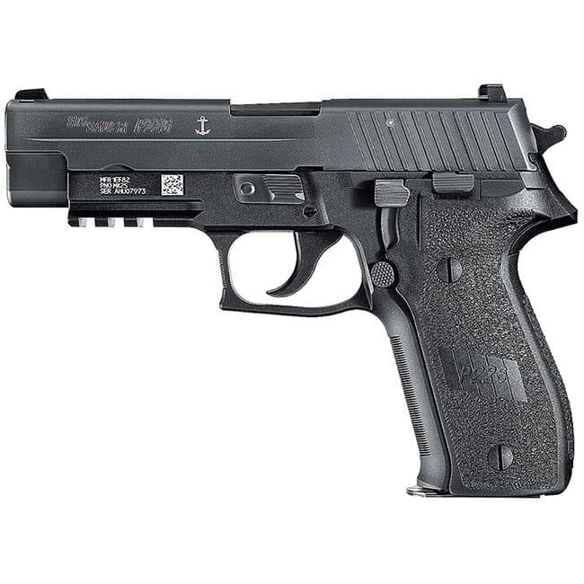 """Sig Sauer P226 9mm 4.4"""" MK25 Black DA/SA Pistol w/ (3) 10Rd Mags MK25-10"""