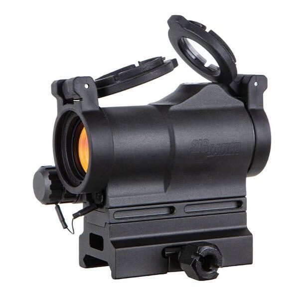 Sig Sauer ROMEO7S 1x22mm 2 MOA Compact Green Dot Sight SOR75002