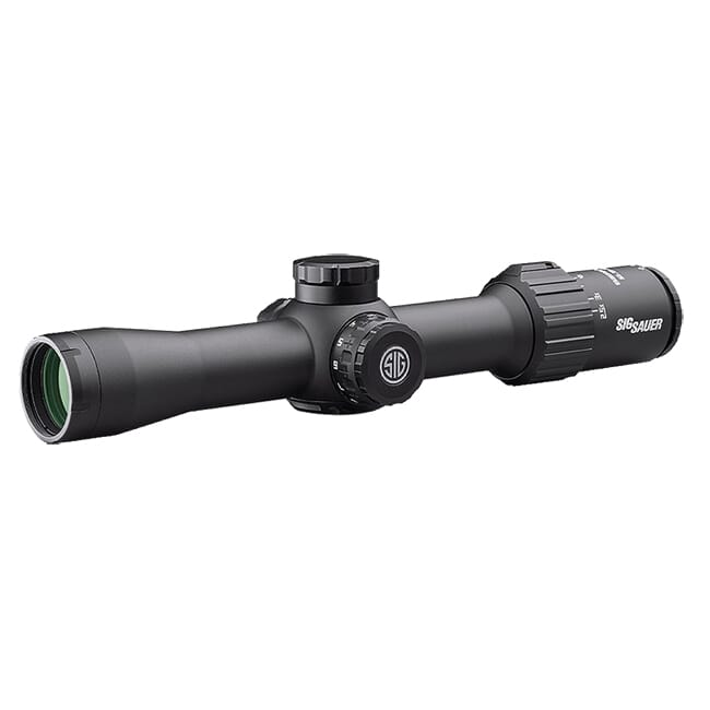 Sig Sauer SIERRA3 BDX, 2.5-8x32mm, 30mm, SFP, BDX-R1 Digital Ballistic Reticle, 0.25 MOA, Black Riflescope SOSBDX32111