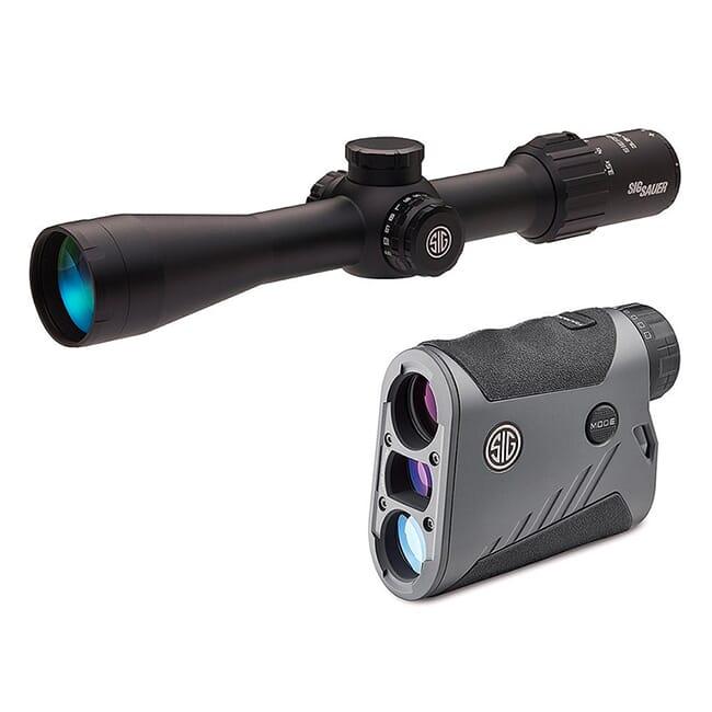 Sig Sauer BDX Combo Kit, Kilo1600BDX LRF and Sierra3BDX Rifle Scope, 3.5-10x42mm SOK16BDX02