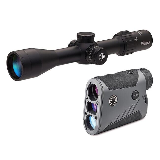 Sig Sauer BDX Combo Kit, Kilo1600BDX LRF and Sierra3BDX Rifle Scope, 4.5-14x44mm SOK16BDX03