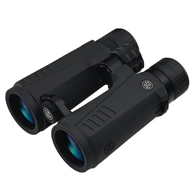 Sig Sauer ZULU5 Binocular 12X50mm HD Lens Black SOZ532121