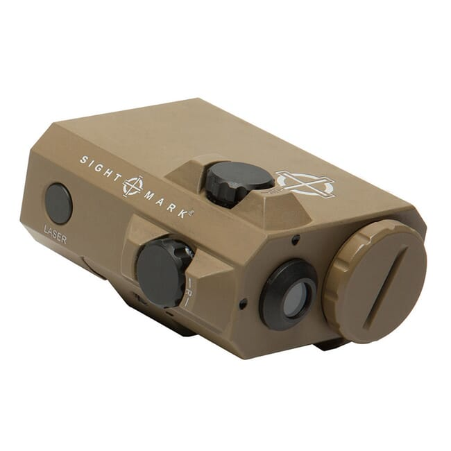 Sightmark LoPro Mini Green Laser Sight - Dark Earth SM25016DE